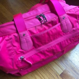 Lululemon Pink Duffle Bag